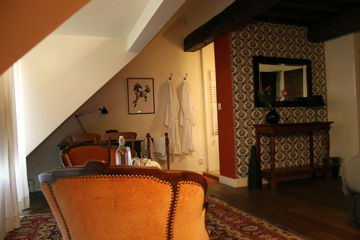 Oranje kamer | Interieur