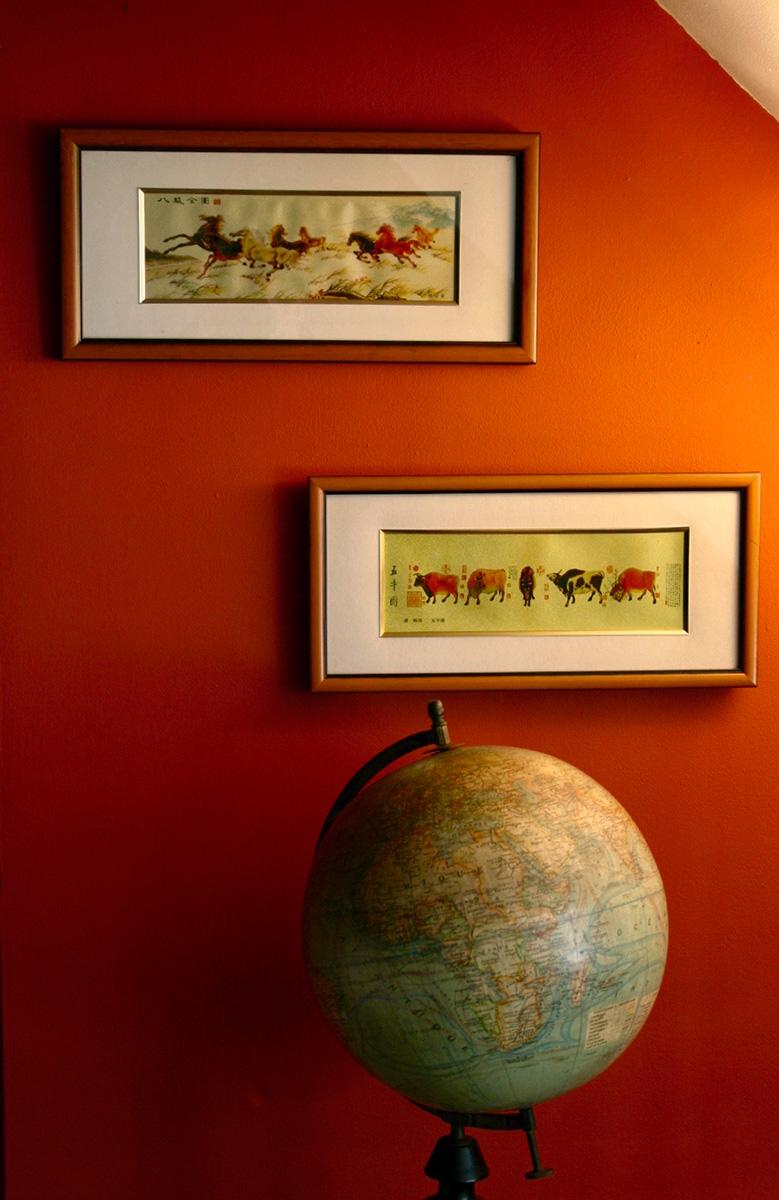 Oranje kamer | Detail